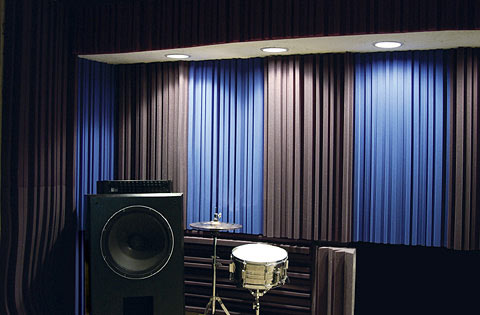Acoustic Sound Absorbing Curtains